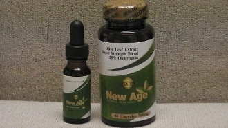 COMBO PACK ( Olive Leaf 60 Caps & HAND MADE Oregano Oil) (15ml)
